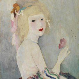 Marie Laurencin-Portrait De Jeune Femme