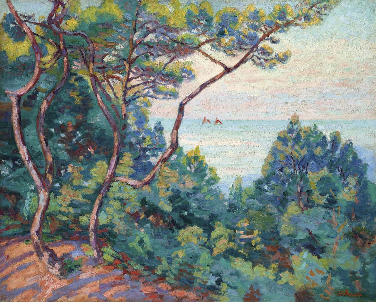 Jean-Baptiste Armand Guillaumin-Cote De Lesterel-1905