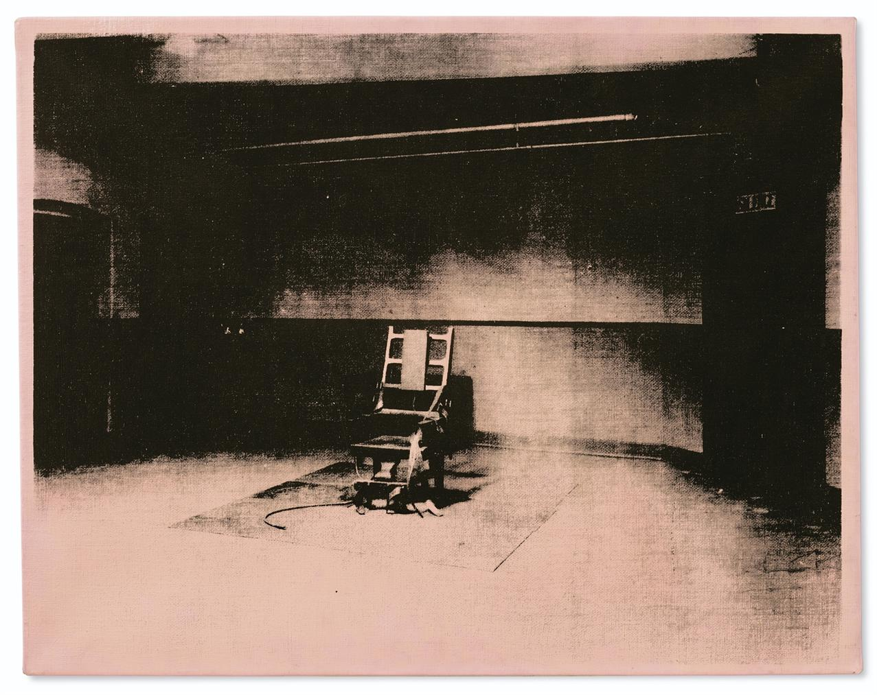 Andy Warhol-Little Electric Chair-1965