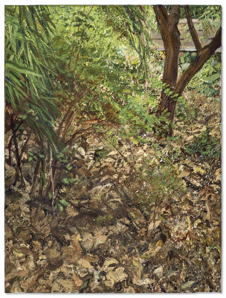 Lucian Freud-Painters Garden-2003