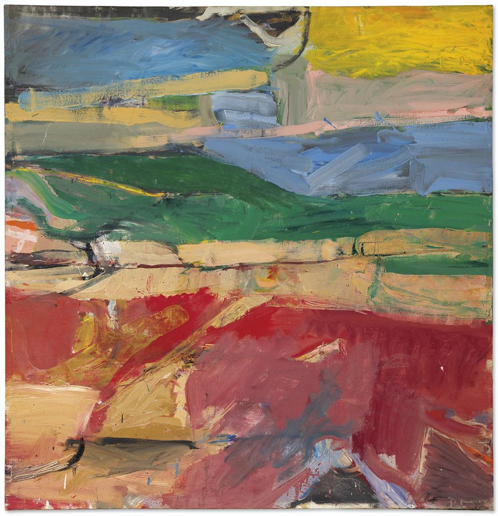 Richard Diebenkorn-Berkeley #32-1955