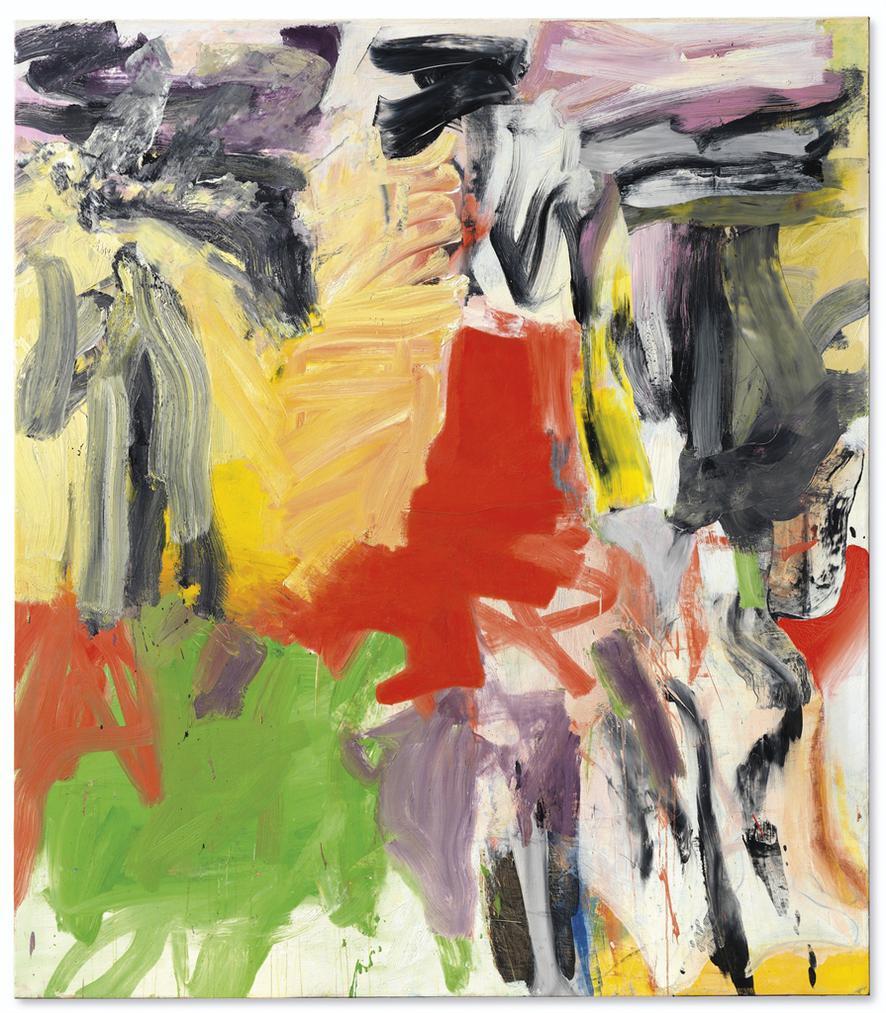 Willem de Kooning-Untitled I-1979