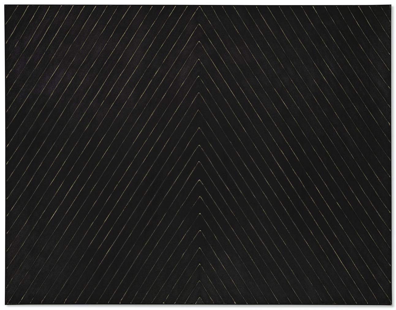 Frank Stella-Point Of Pines-1959