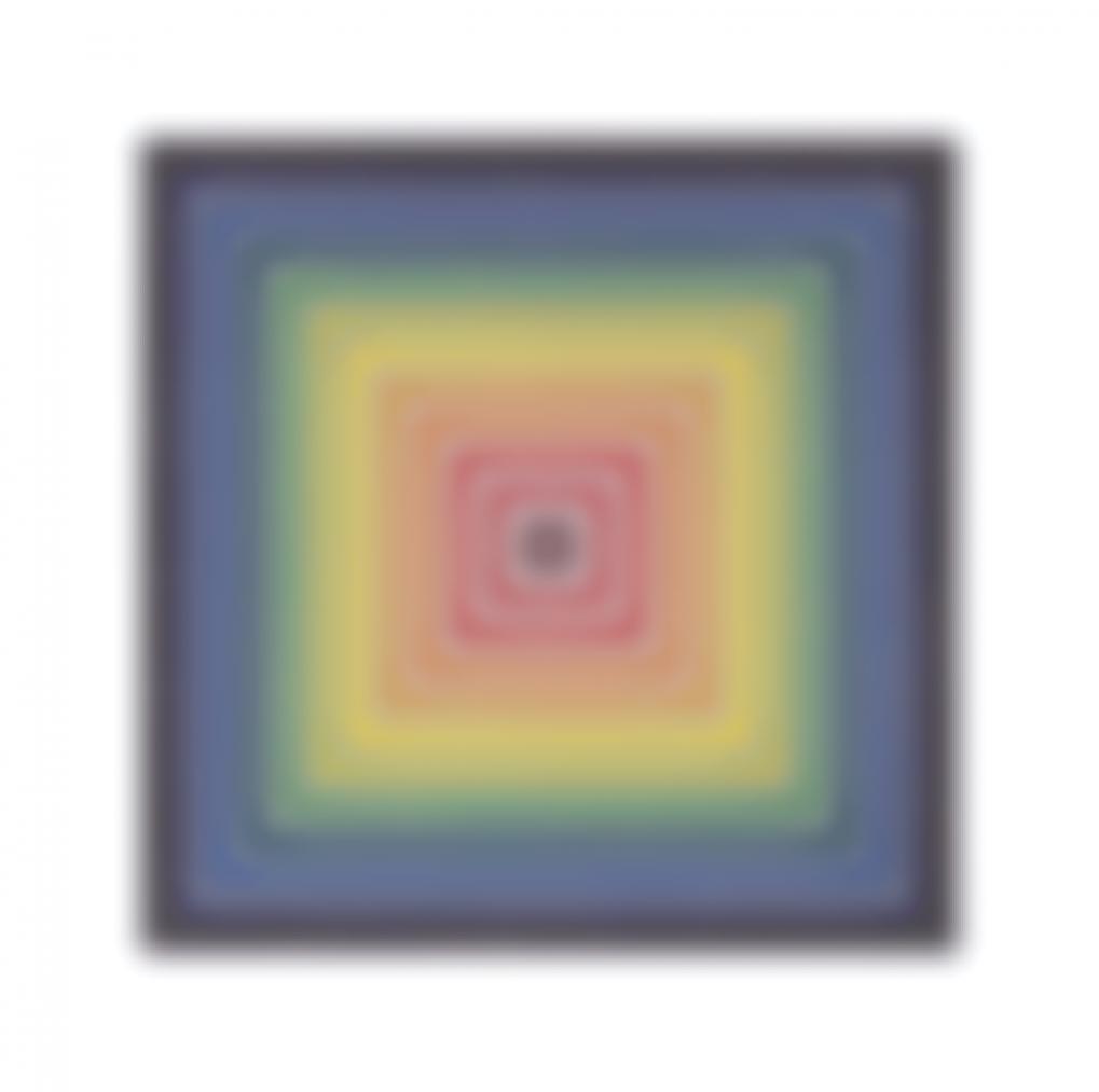 Frank Stella-Lettre Sur Les Aveugles I-1974