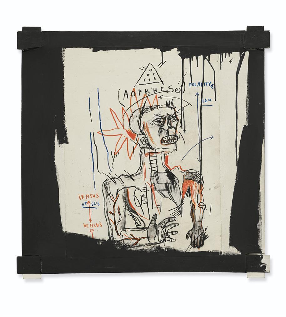 Jean-Michel Basquiat-Santo 3-1982