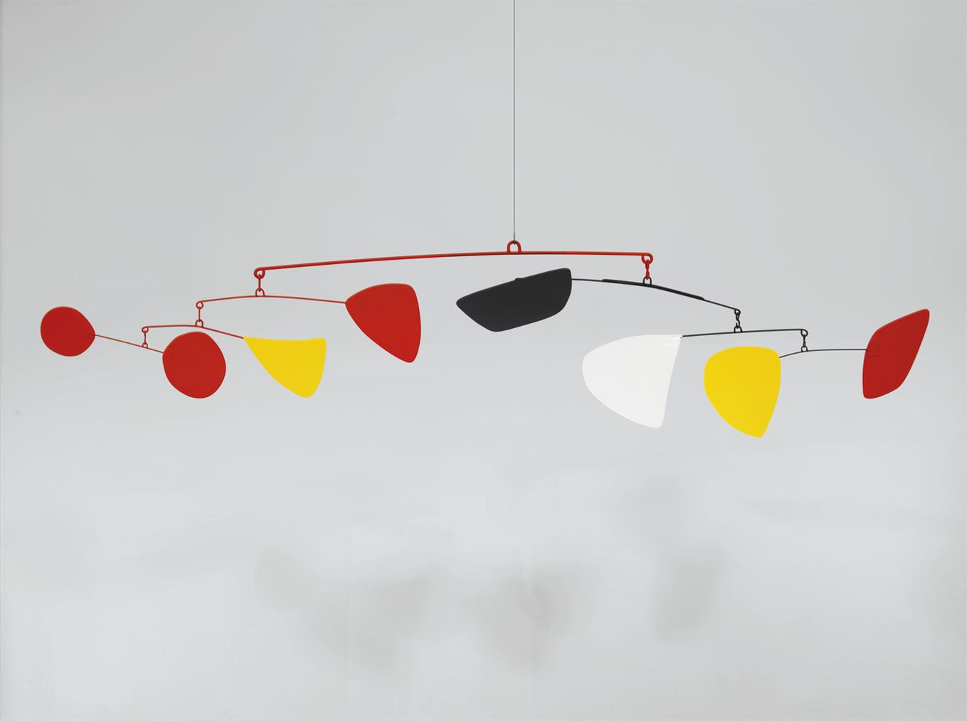 Alexander Calder-Polychrome From One To Eight-1962