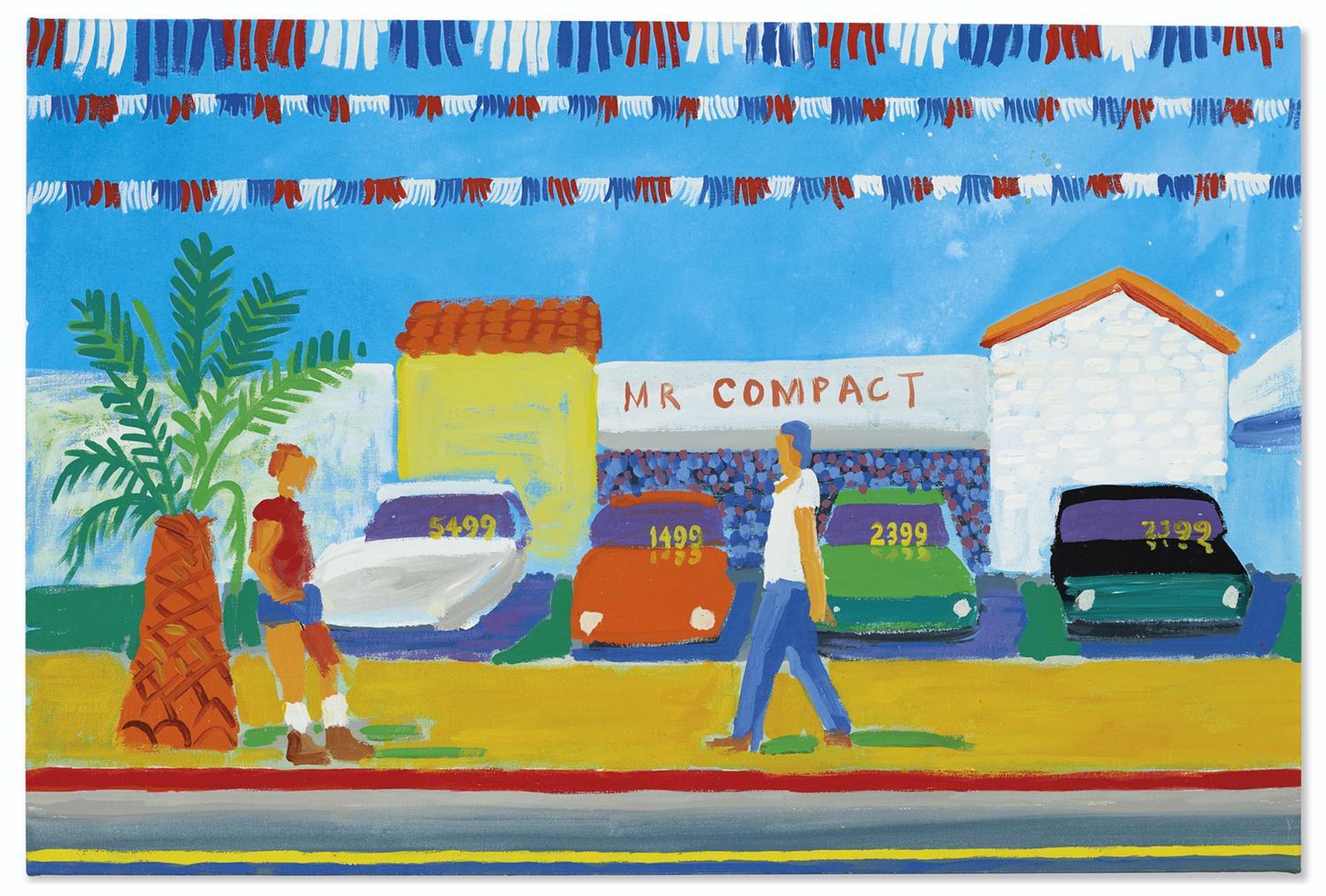 David Hockney-Santa Monica Boulevard-1979