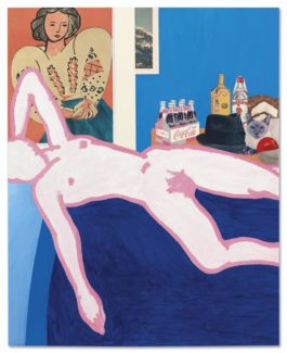 Tom Wesselmann-Great American Nude #26-1962