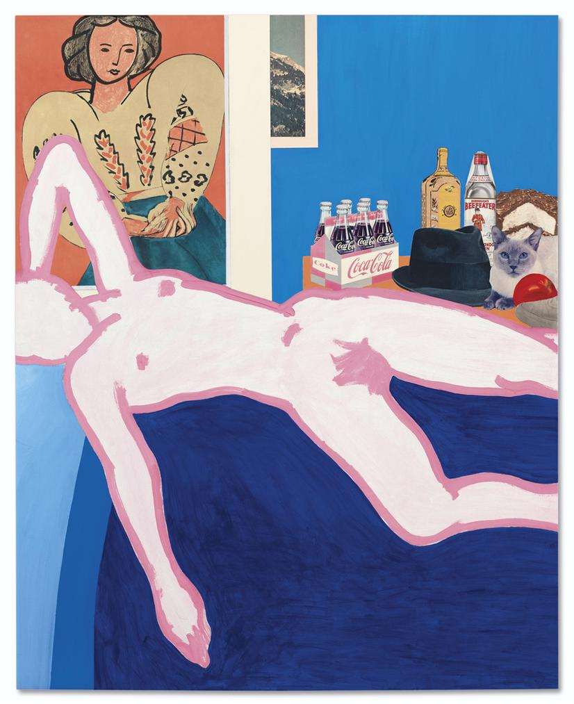 Tom Wesselmann-Great American Nude #26-1962