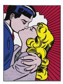 Roy Lichtenstein-Kiss III-1962