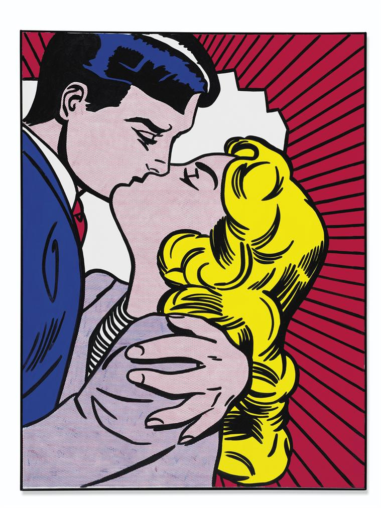 Roy Lichtenstein-Kiss III-1962