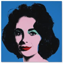 Andy Warhol-Liz [Early Colored Liz]-1963