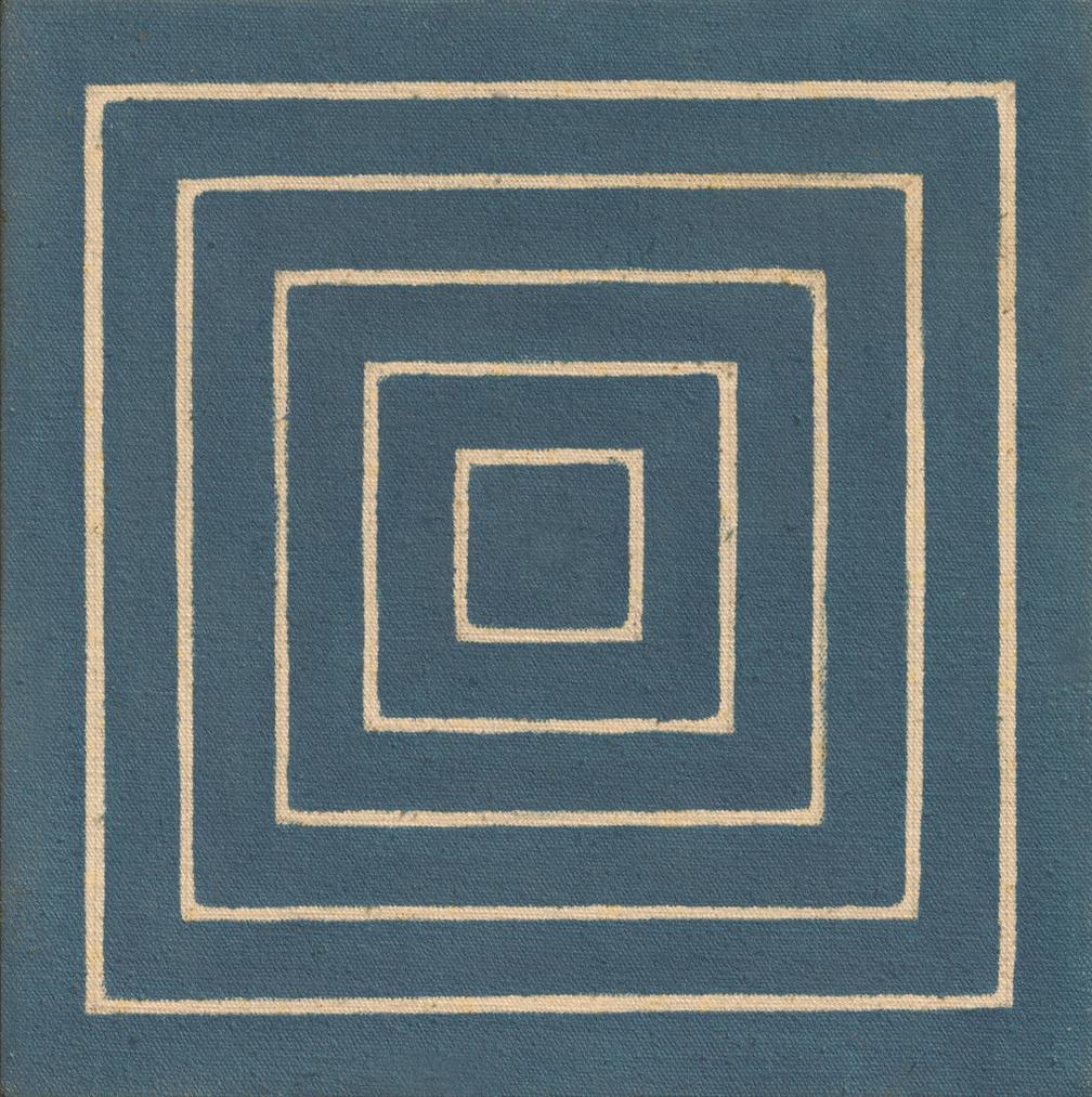 Frank Stella-Untitled-1960