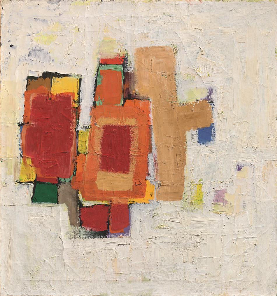 Frank Stella-Princeton II-1956