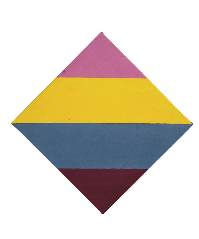 Kenneth Noland-Cross Country-1966