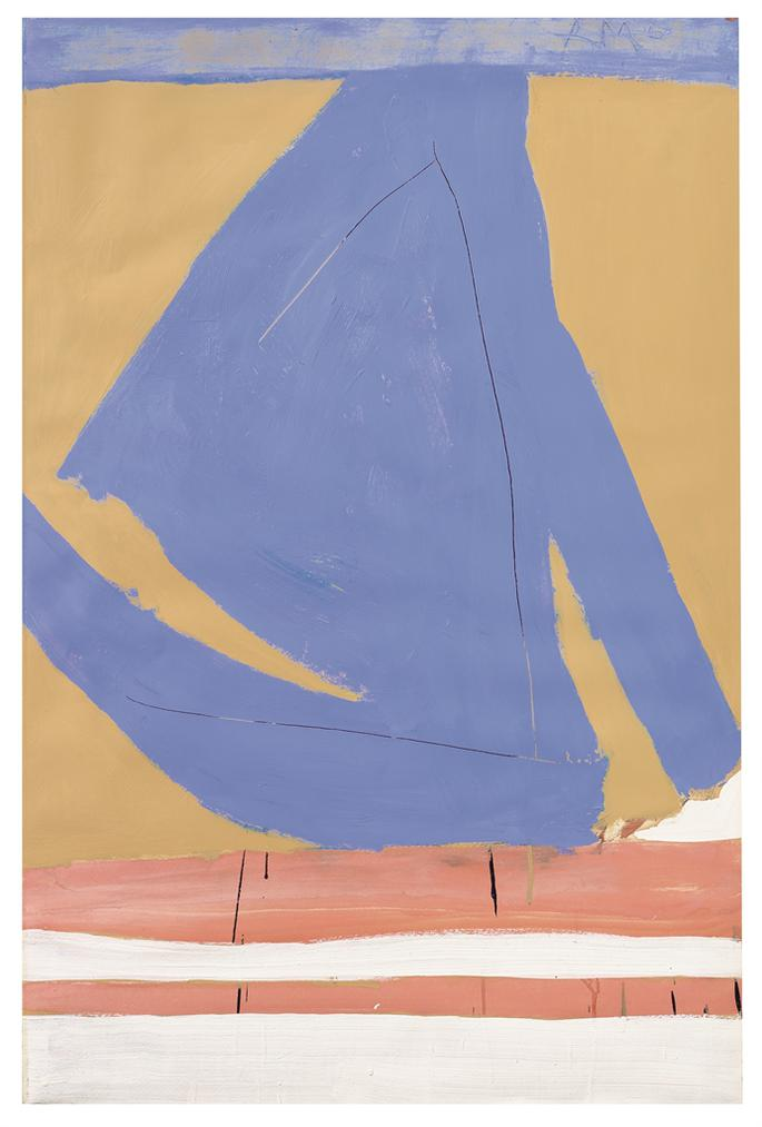 Robert Motherwell-Summertime In Italy No. 3-1960