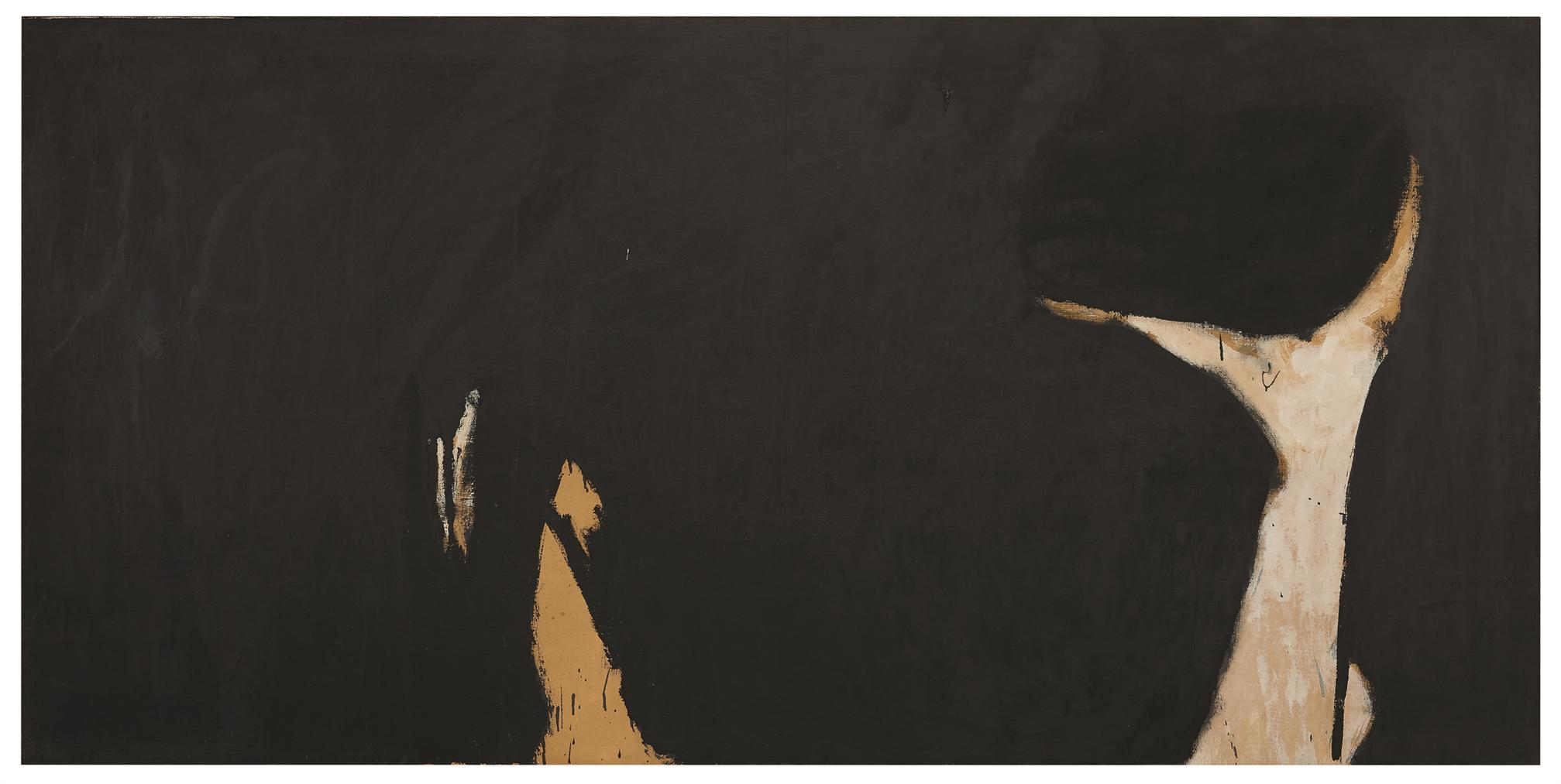 Robert Motherwell-Spanish Painting With The Face Of A Dog-1960