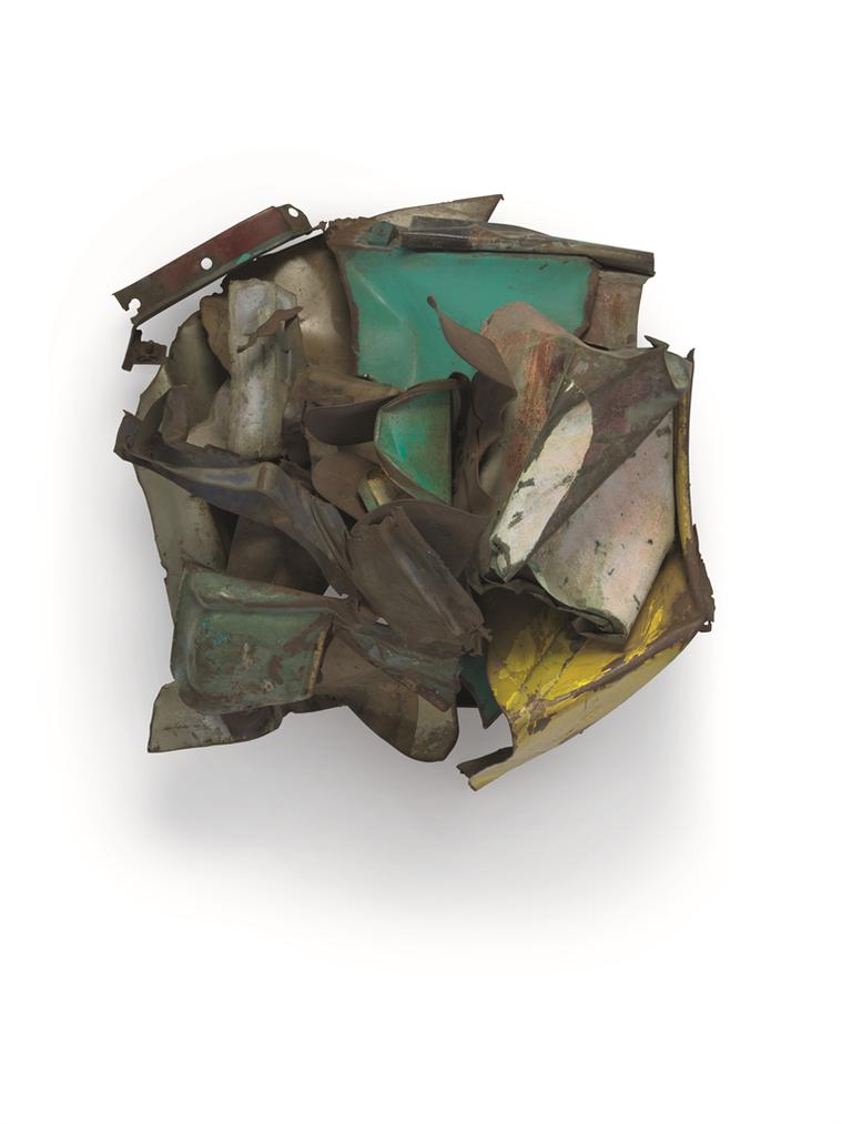 John Chamberlain-Untitled-1962