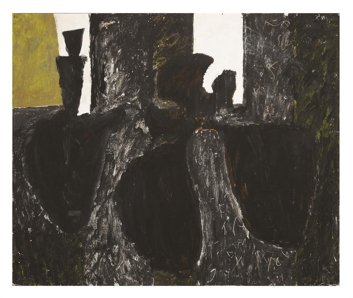 Robert Motherwell-Black Still Life-1950