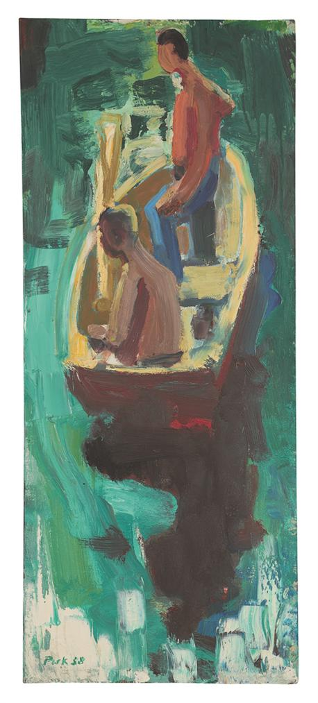 David Park-Rowboat-1958