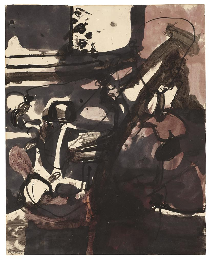 Richard Diebenkorn-Untitled-1955