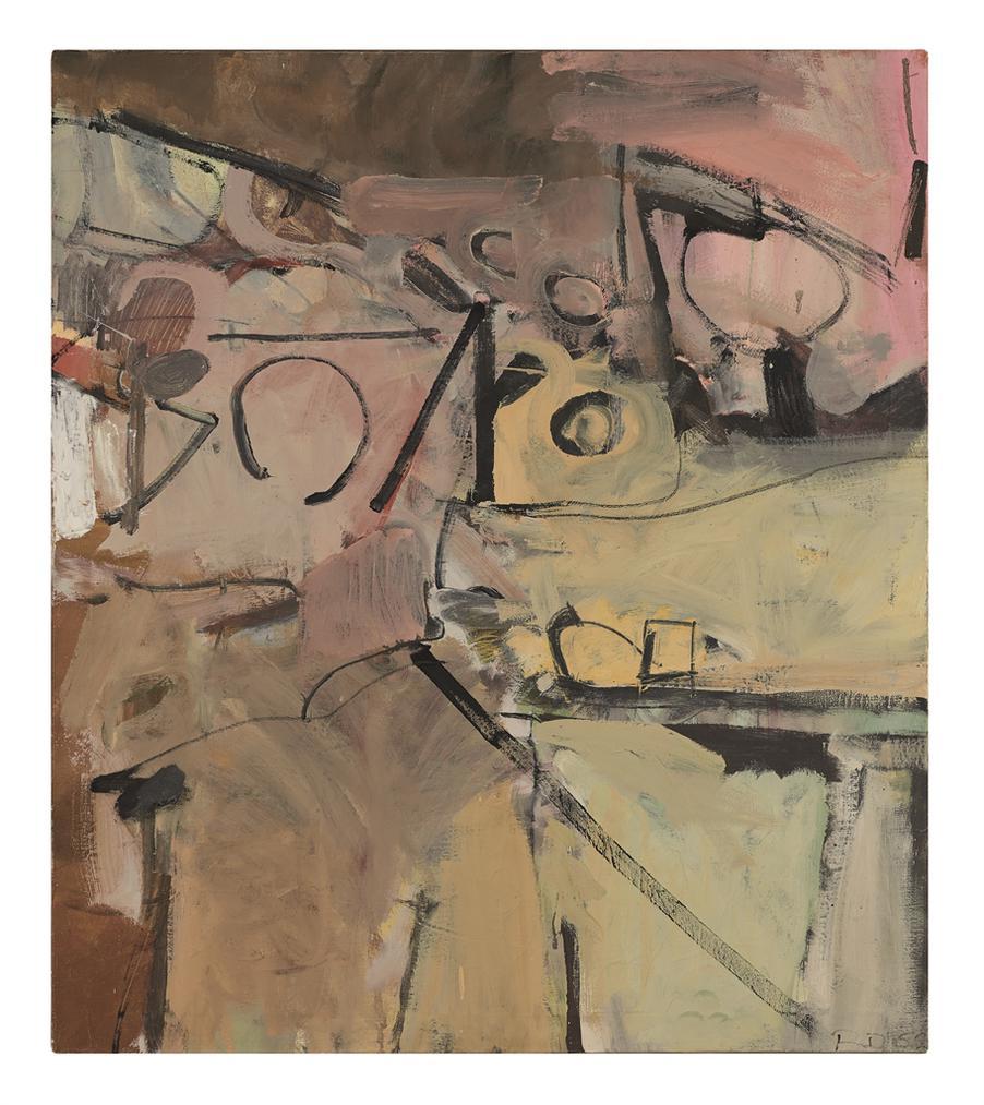 Richard Diebenkorn-Untitled (Albuquerque)-1952