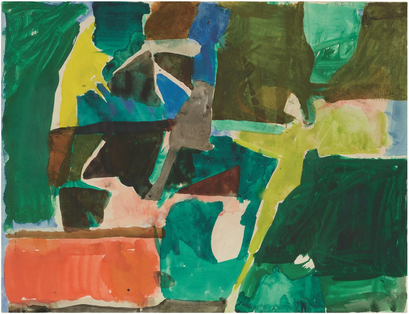 Richard Diebenkorn-Untitled-1952