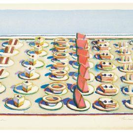 Wayne Thiebaud-Lunch Table-1964
