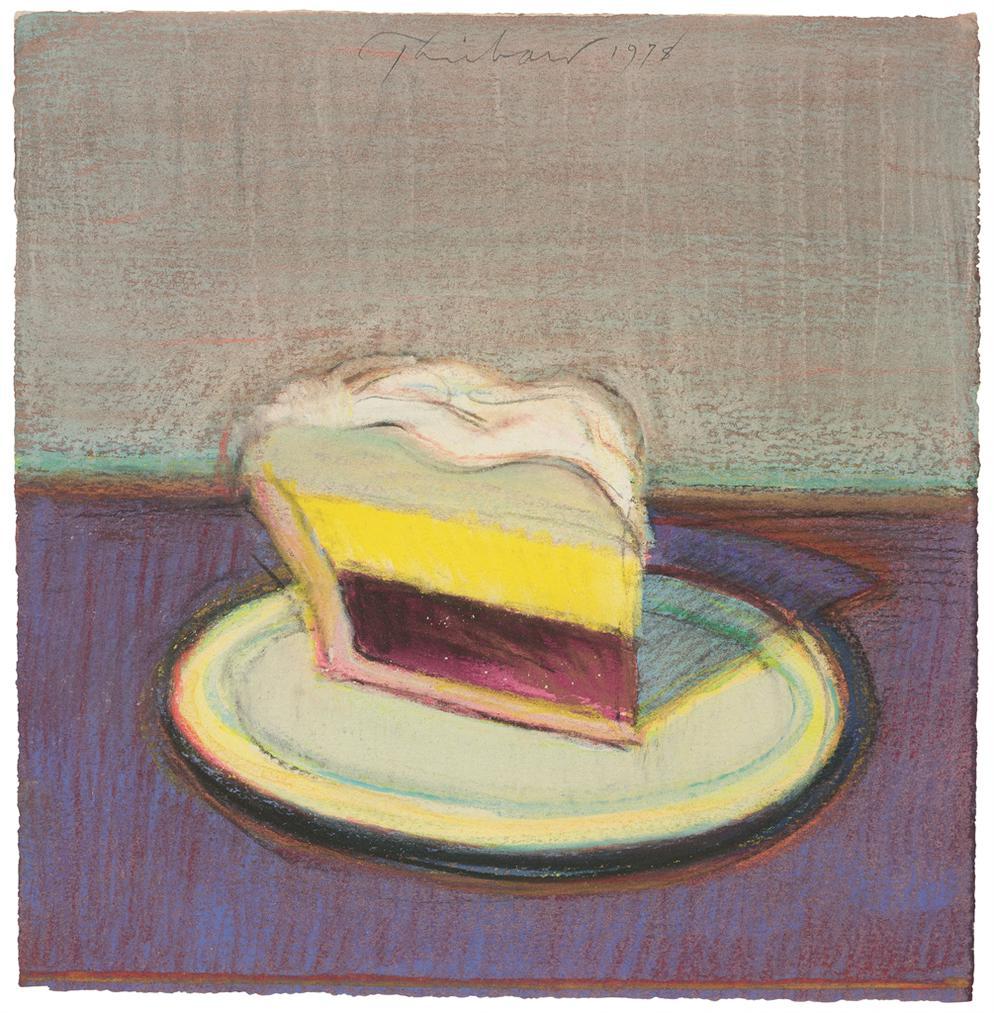 Wayne Thiebaud-Pie Slice-1978