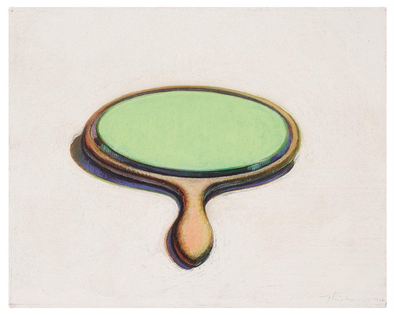 Wayne Thiebaud-Mirror-1966