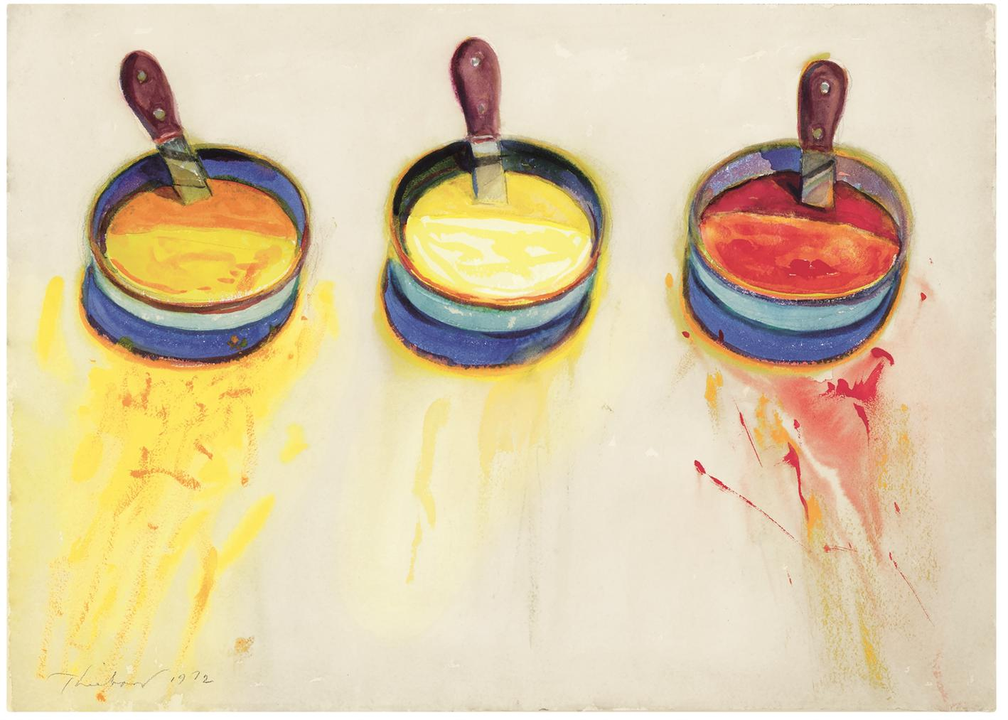 Wayne Thiebaud-Condiments-1972