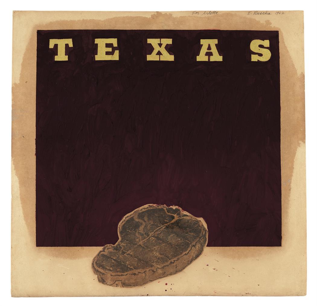 Ed Ruscha-Texas-1962