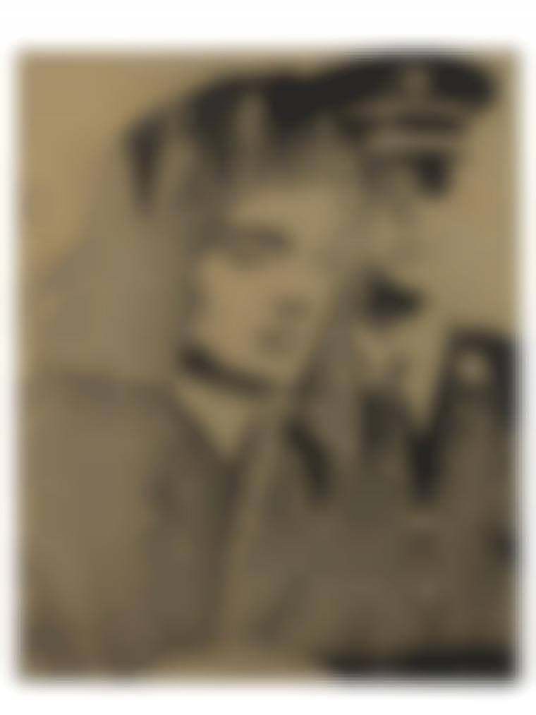 Andy Warhol-Jackie (Gold)-1964