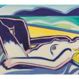 Tom Wesselmann-Blue Nude Claire No. 1-2000