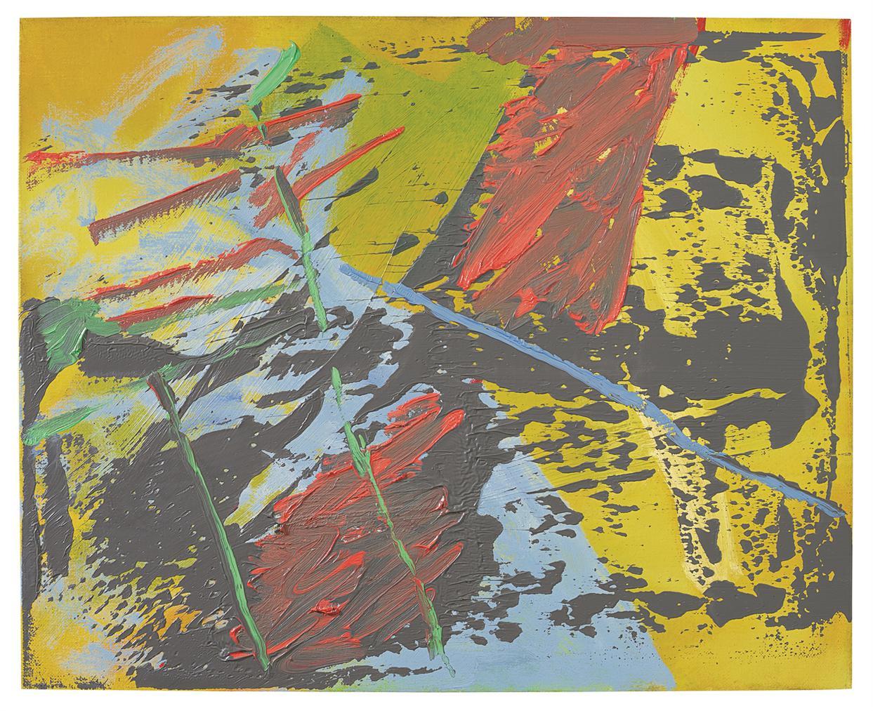 Gerhard Richter-Abstraktes Bild-1981