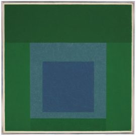 Josef Albers-Homage To The Square: Intersecting-1959