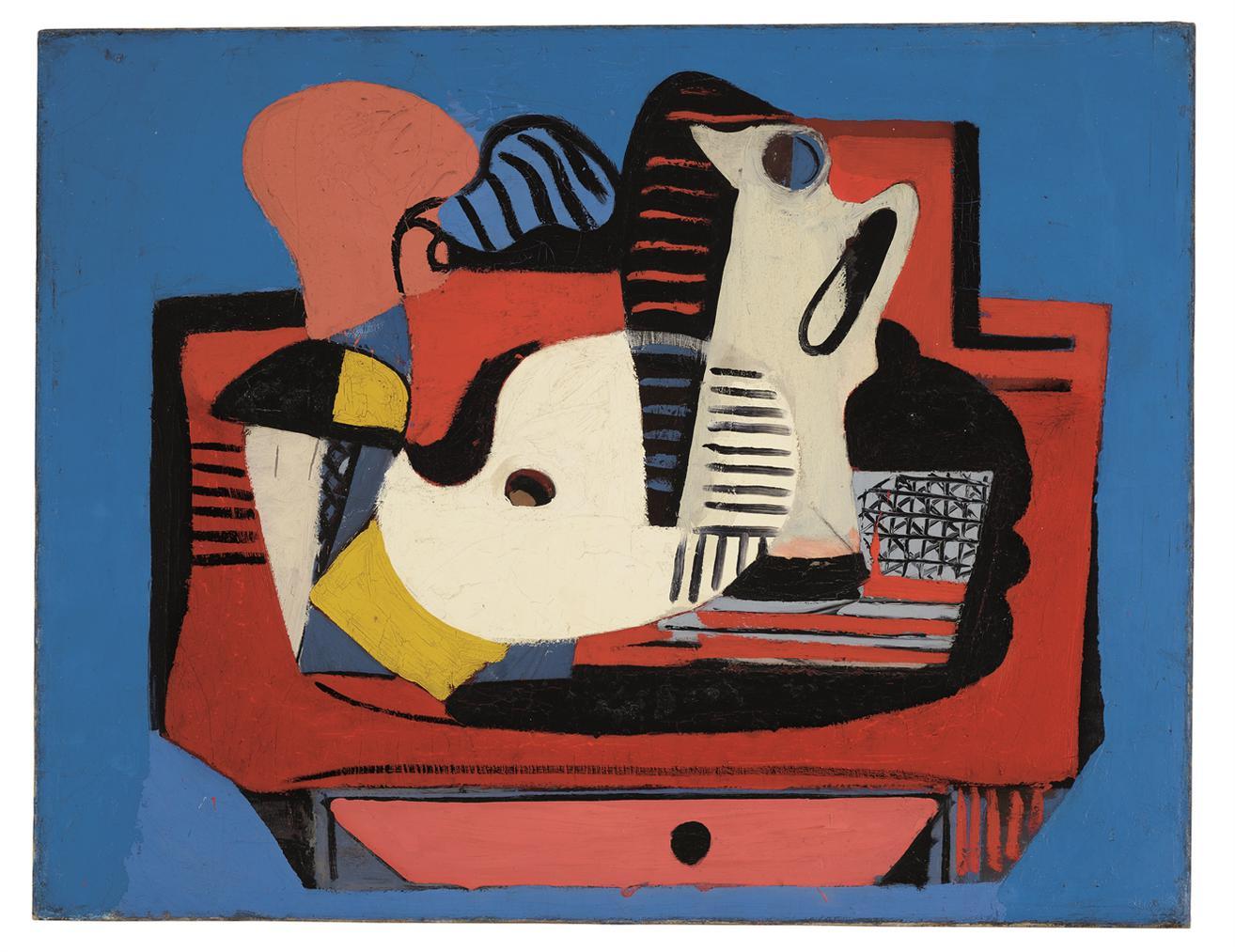 Arshile Gorky-Still Life With Palette-1930