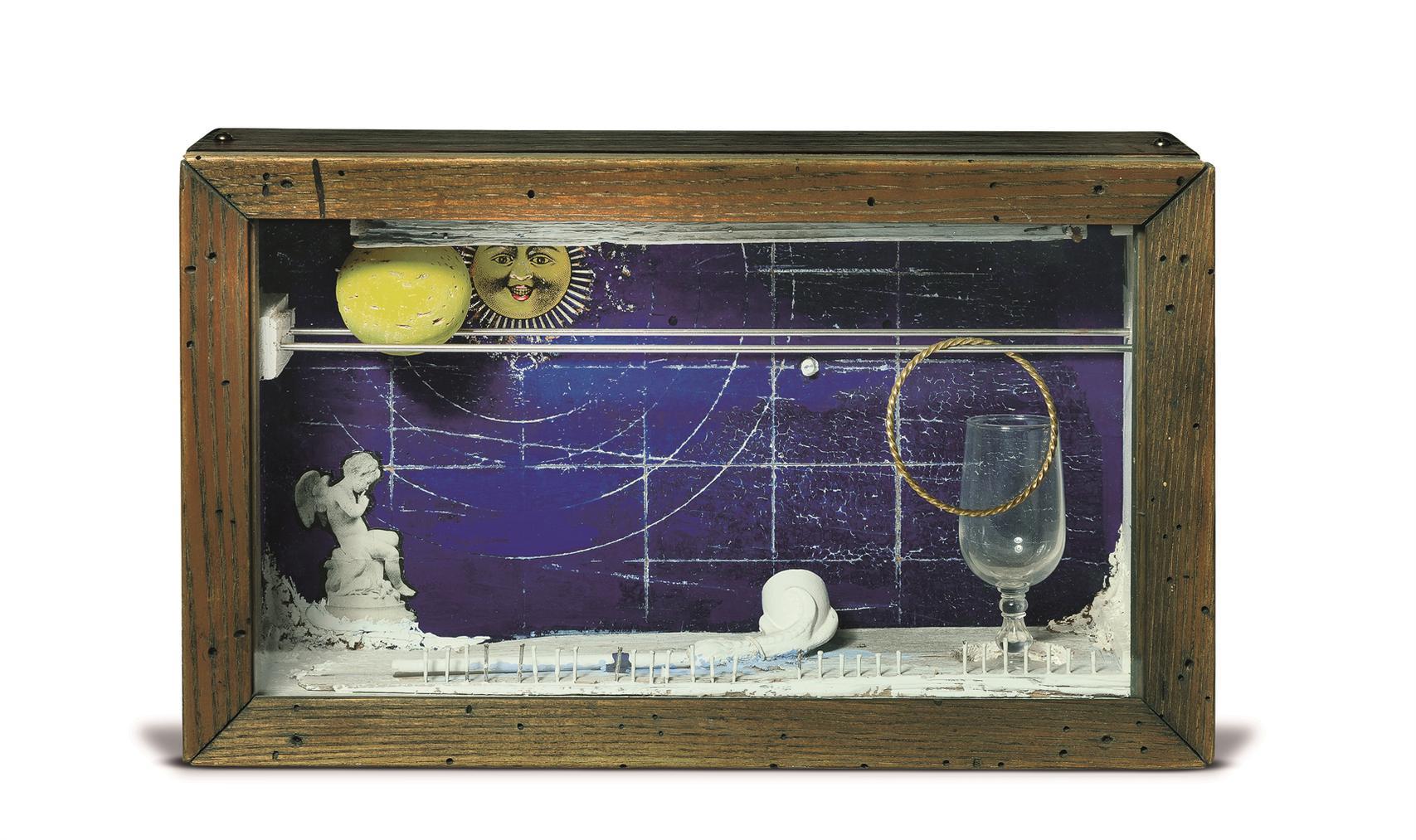 Joseph Cornell-Untitled (Solar Soap Bubble Set Series)-1955