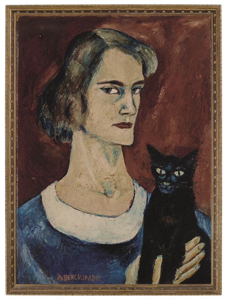 Gertrude Abercrombie - Self-Portrait-1934