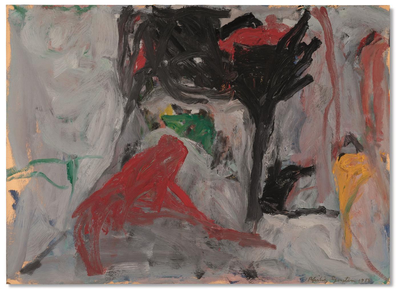 Philip Guston-Untitled-1958