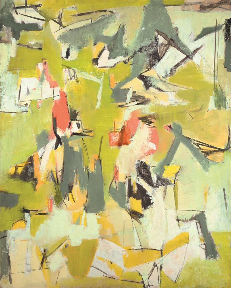 Esteban Vicente-Untitled-1951