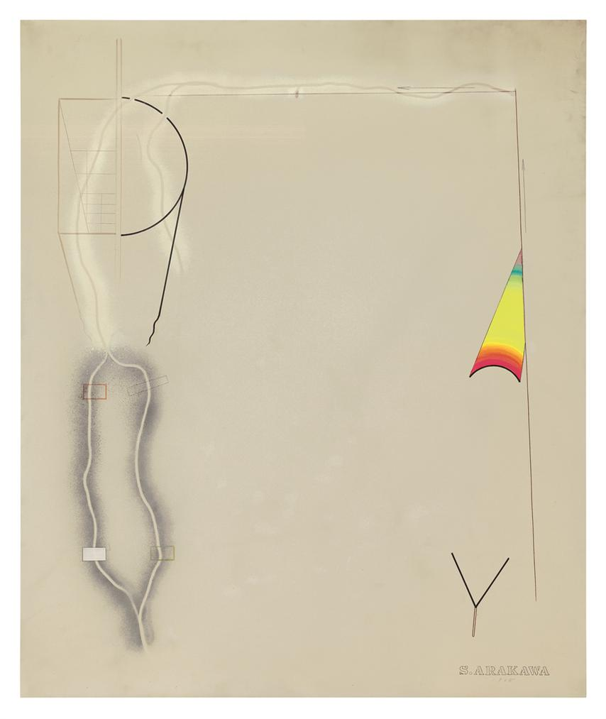 Shusaku Arakawa-Untitled-1965