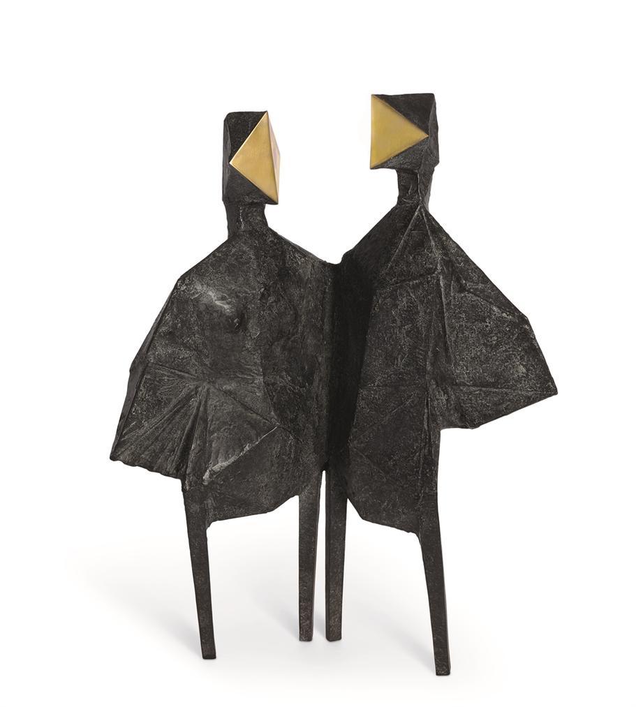 Lynn Chadwick-Maquette Diamond Wing-1970