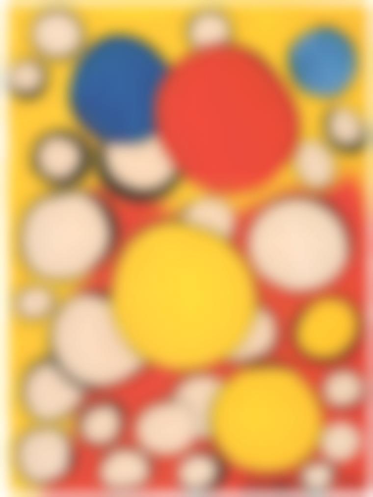 Alexander Calder-Clustered Orbs-1974