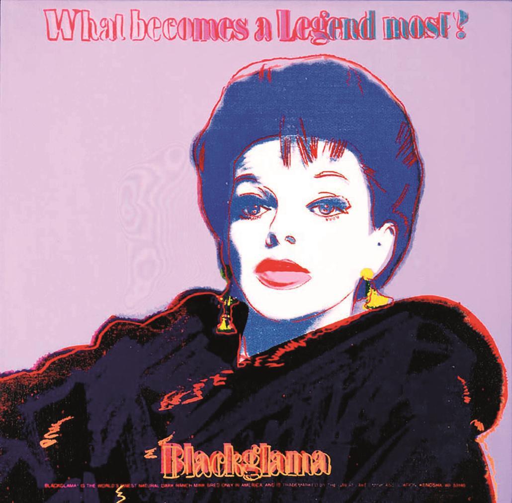 Andy Warhol-Blackglama-1985