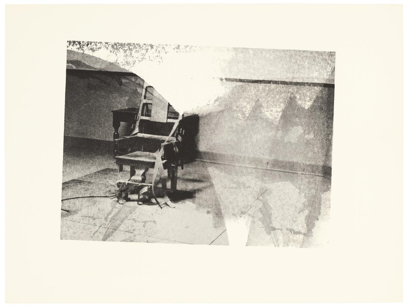 Andy Warhol-Electric Chair (Retrospective Series)-1978