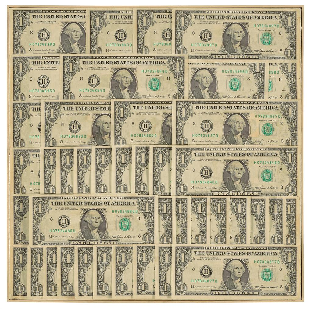 Andy Warhol-Dollar Bills-1986