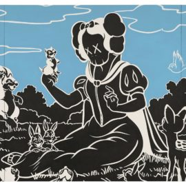 KAWS-In The Woods-2002