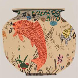 Jonas Wood-M.S.F. Fish Pot #5-2015