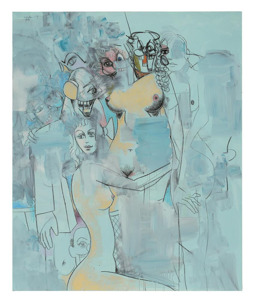 George Condo-The Drifters-2009